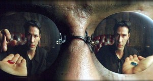 Blog image - the red pill or the blue pill